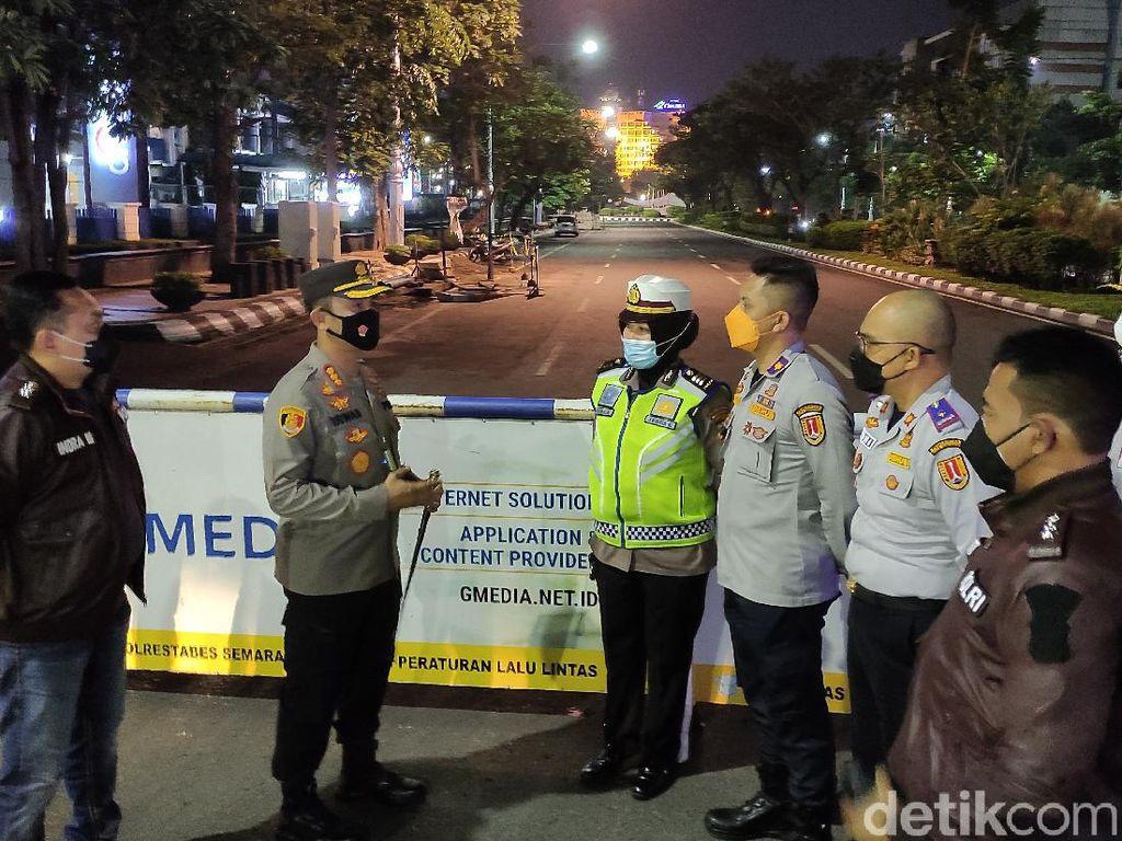 PPKM Level 4 Kota Semarang, 14 Jalan yang Ditutup Kembali Dibuka