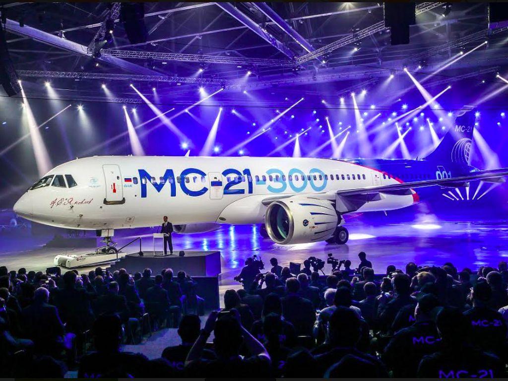 Hati-hati Boeing dan Airbus, Ircut Siapkan Pesawat MC-21