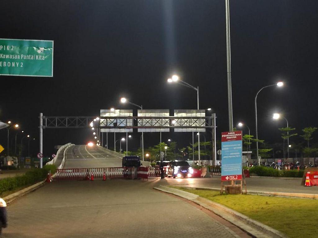 Pembatasan di DKI Berlaku, Jembatan Menuju PIK 2 Jakut Ditutup