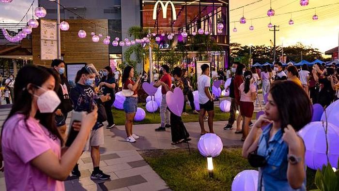 McDonald's : antrean BTS Meal di Filipina