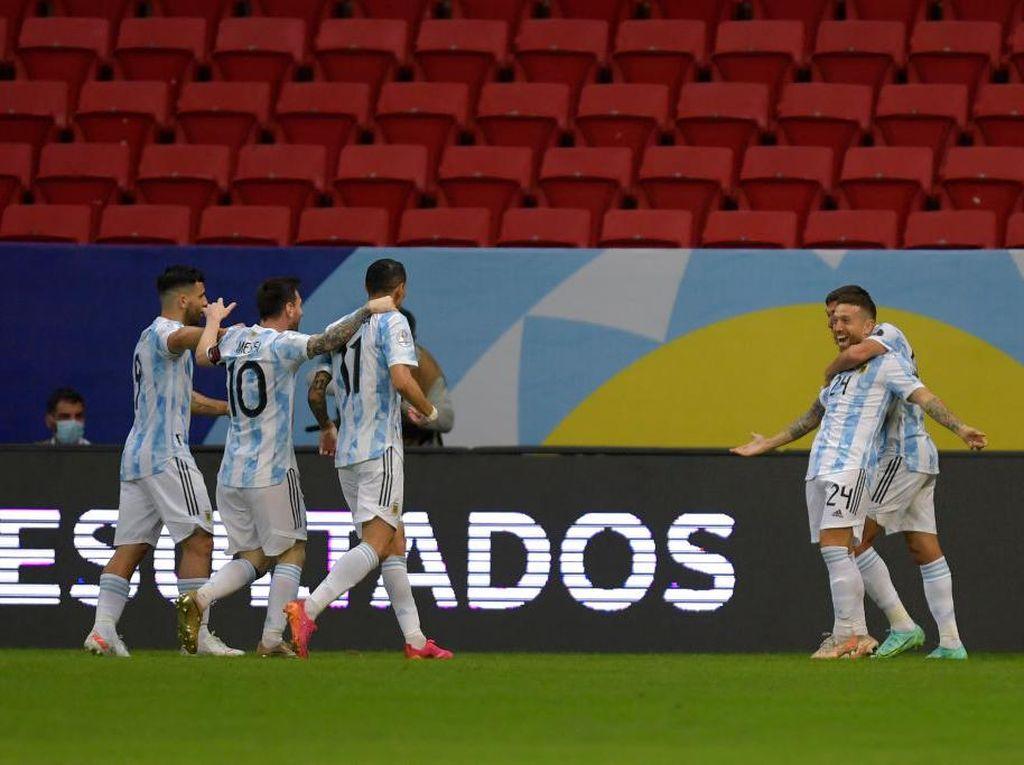 Argentina Vs Paraguay: Menang 1-0, Tim Tango ke Puncak Grup A