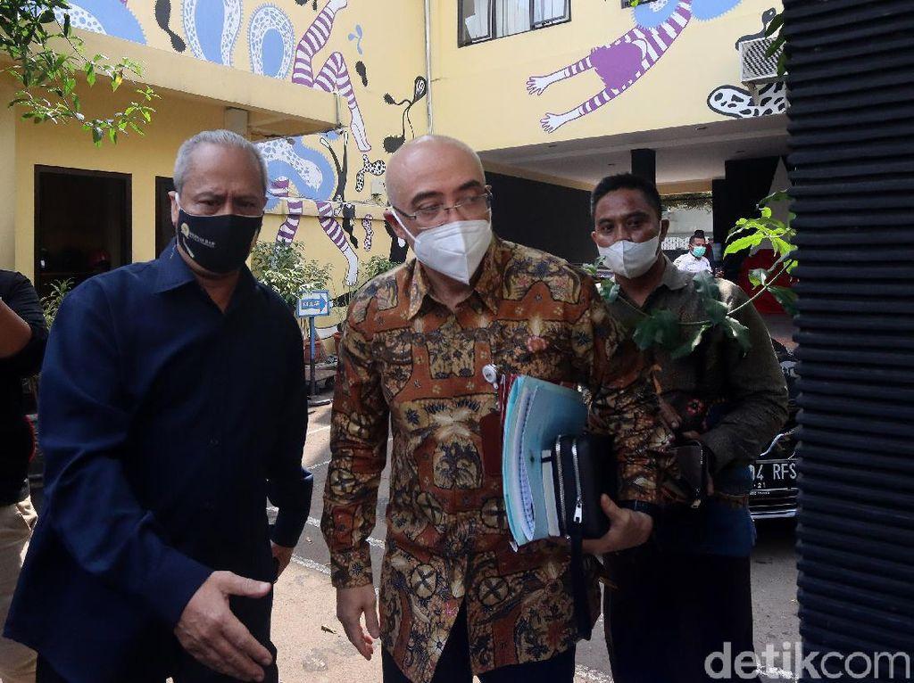 Bahas TWK KPK, Kepala BKN Tiba di Komnas HAM Lewat Pintu Belakang
