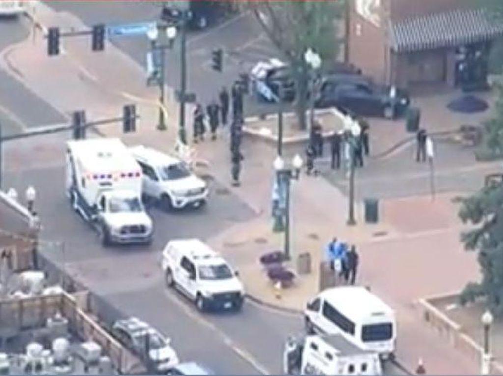 Baku Tembak di Pusat Perbelanjaan di AS, Seorang Polisi Tewas