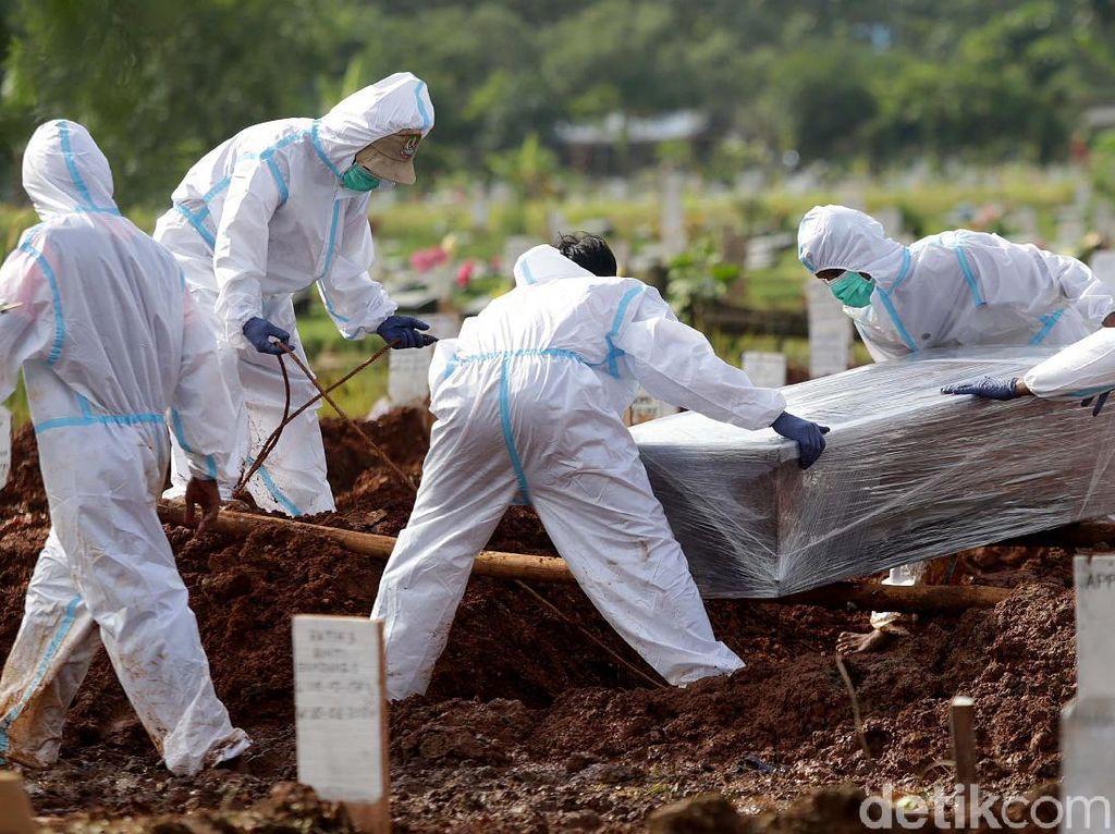 Rekor Lagi! 182 Jenazah di DKI Dimakamkan dengan Protap COVID pada 24 Juni