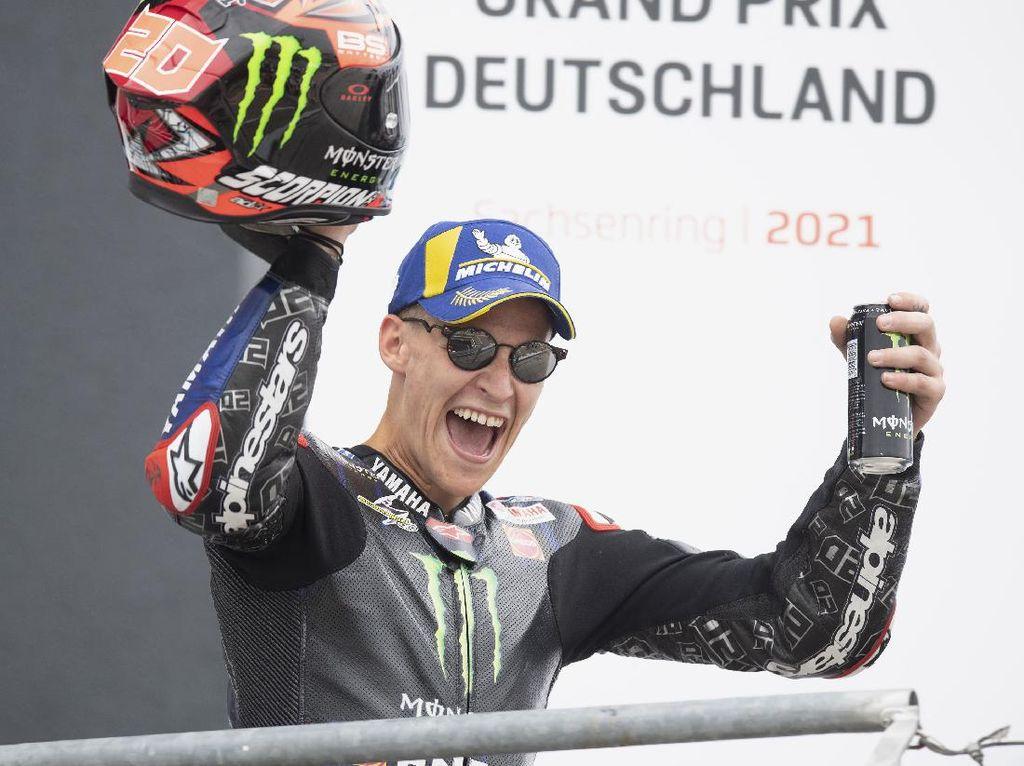 Juarai MotoGP Belanda, Quartararo Ternyata Punya Kendala Ini