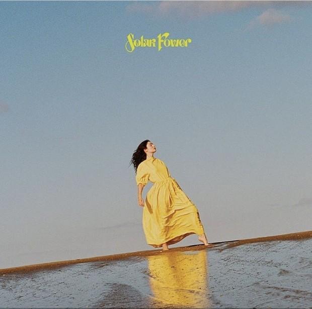 Cover album Lorde Solar Power.