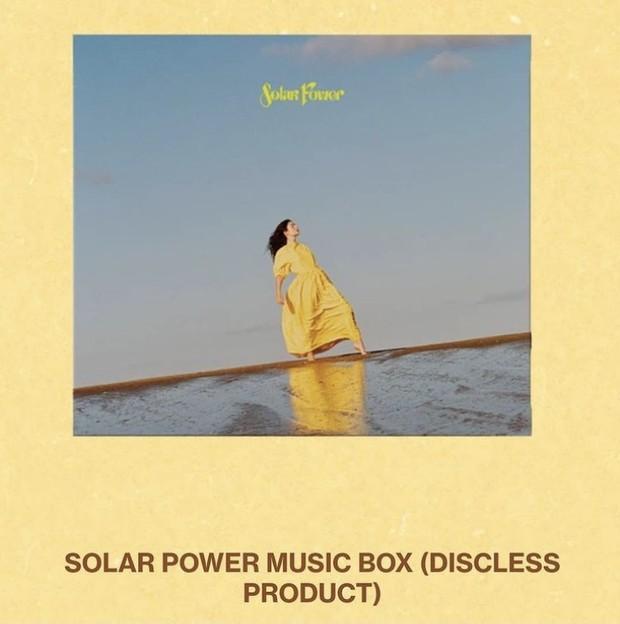Alternatif CD, Lorde membuat Music Box untuk album Solar Power.