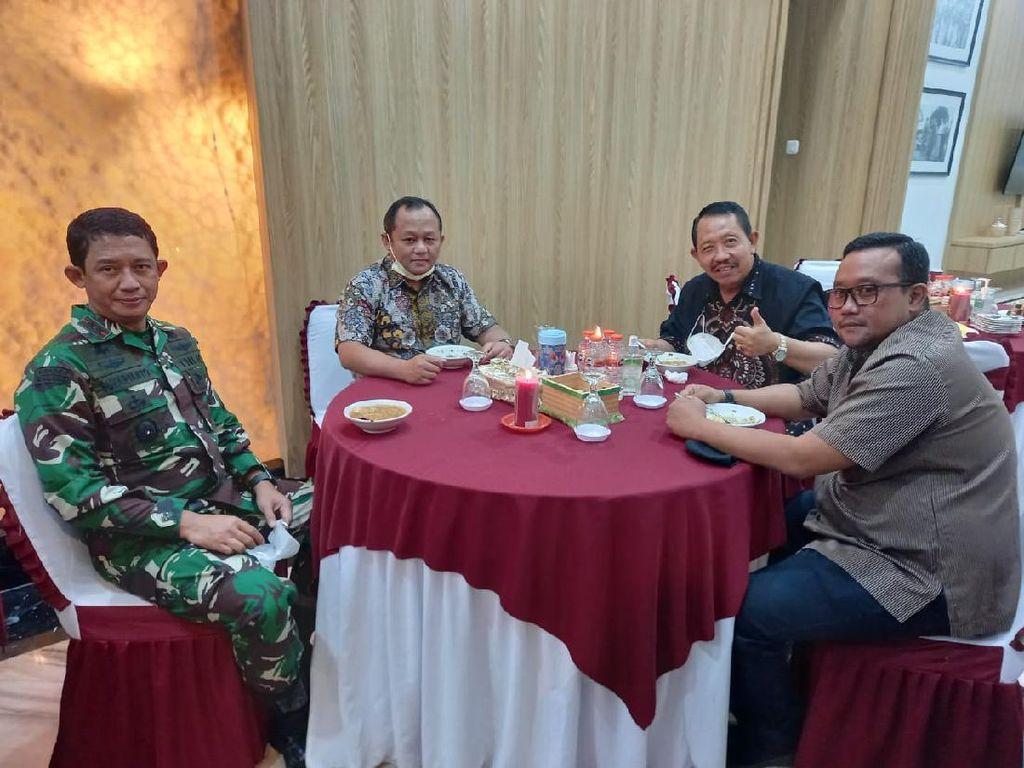 Kunjungan Ke Pangdam Brawijaya, Ketua DPD Golkar Jatim Beri Pujian