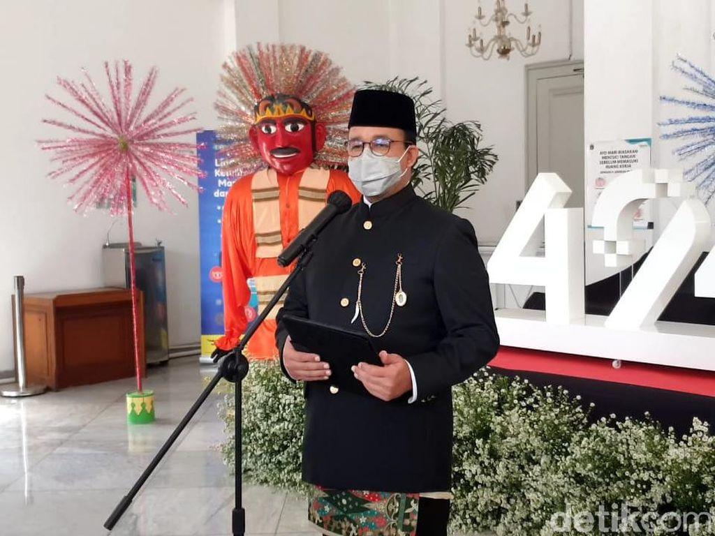 Anies Ungkap Makna di Balik Tema HUT ke-494 DKI Jakarta