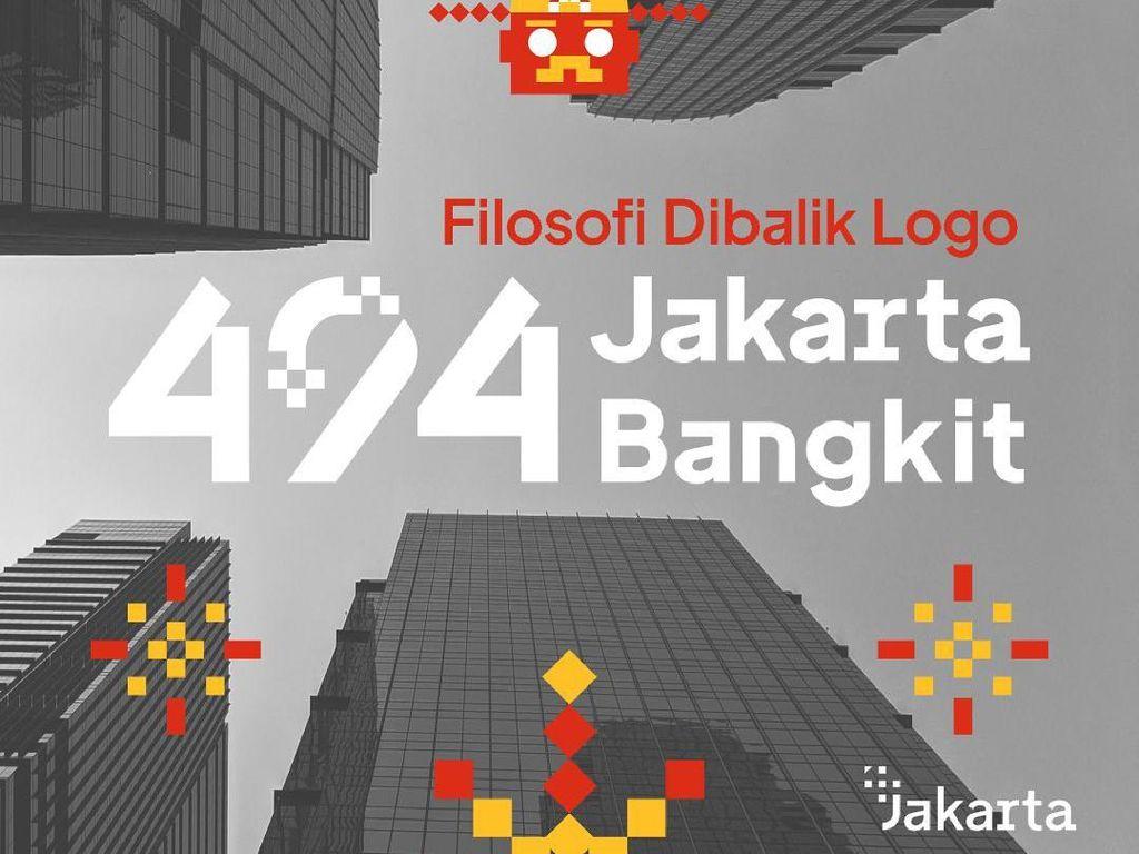 Ini Gambar Tema Ulang Tahun Jakarta Ke-494 dan Filosofinya