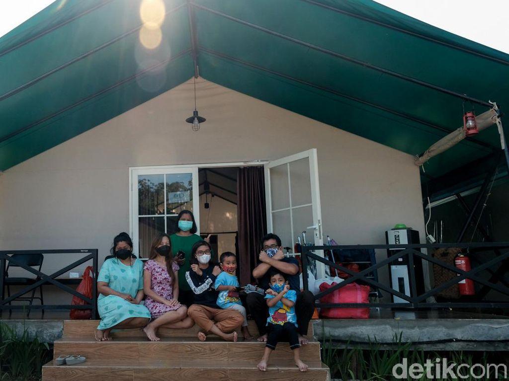 Mengintip Tempat Isolasi Glamping Rumah Lawan COVID di Tangsel