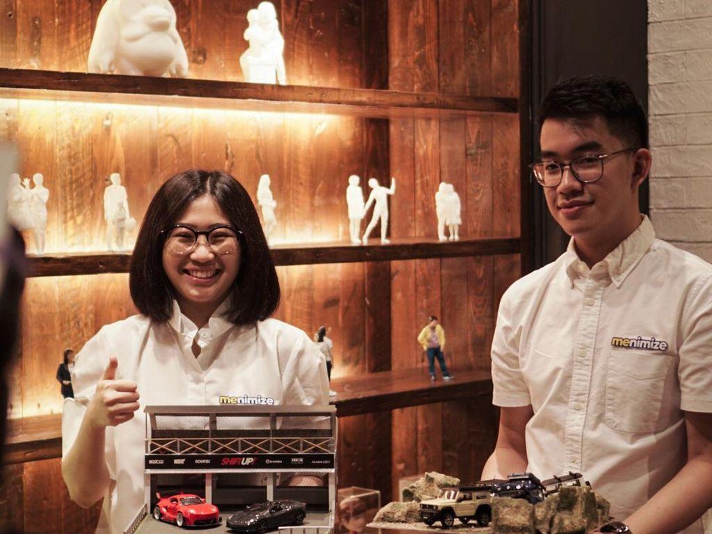 Top! 2 Anak Muda Bikin Startup Pemodelan 3D, Bisa Custom Apa Aja