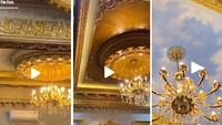 Viral Rumah Serba Emas Bak Istana Kerajaan, Saingan Sisca Kohl?