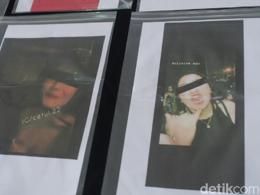 Viral Video Gerombolan Gadis ABG Mabuk Umpat Polisi di Sleman