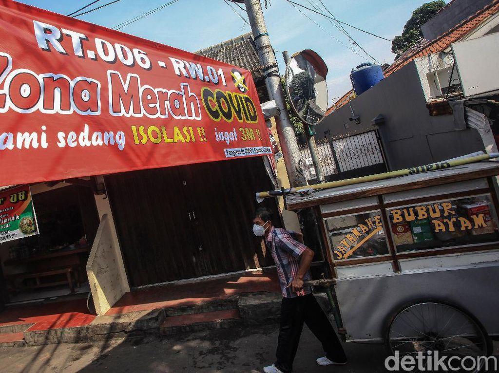 Zona Merah di DKI Jakarta Hanya Tersisa 1 Lokasi, di Mana?
