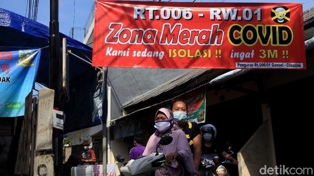 Waspada! Zona Merah di Jakarta Bertambah Gegara Corona Merebak