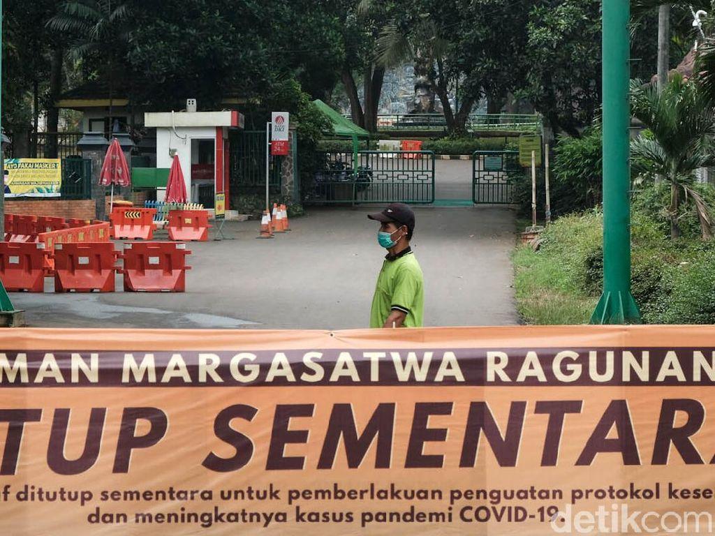 Pihak Taman Margasatwa Ragunan Dukung Diberlakukannya PPKM Darurat