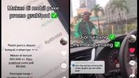 Demi Dapat Harga Promo, Netizen Ini Pesan Makan via Ojol dan Tunggu di Mobil!