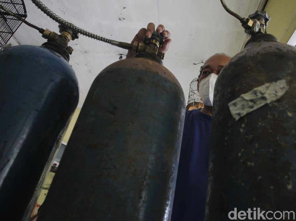 Mulai Cemas! Stok Oksigen di Yogyakarta Menipis