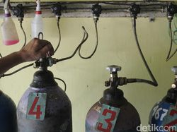 Sempat Langka, Stok Oksigen DIY Kini Dipastikan Aman 3-4 Hari ke Depan