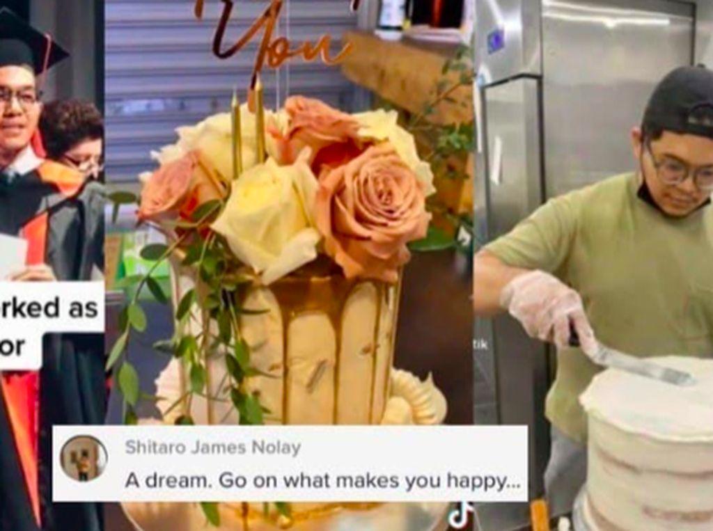 Kejar Passion, Doktor Ini Pilih Jadi Desainer Kue dan Sangat Menikmatinya
