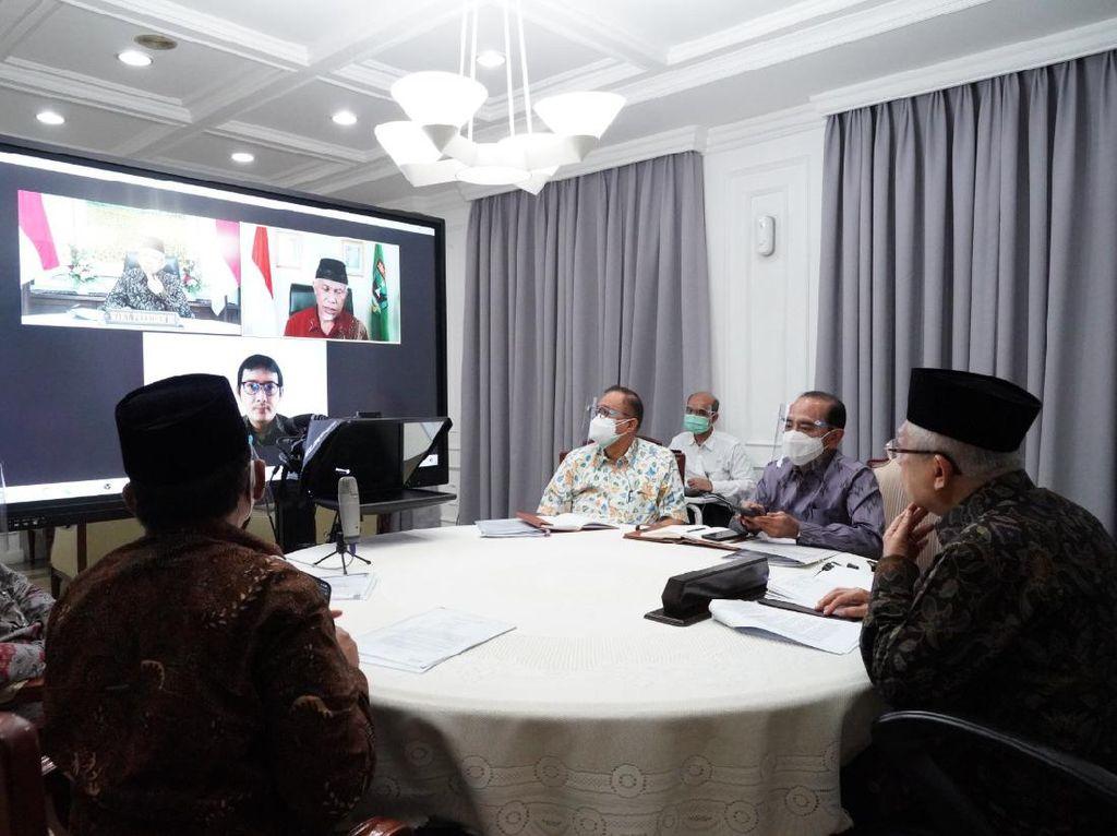 Maruf Amin Audiensi Virtual dengan Gubernur Sumbar, Bahas Apa?