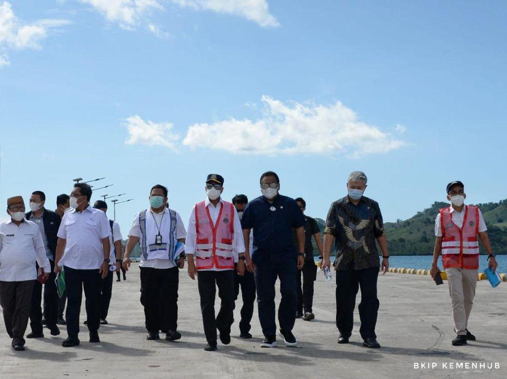 Pengembangan Pelabuhan Anggrek di Gorontalo Dimulai Tahun Ini