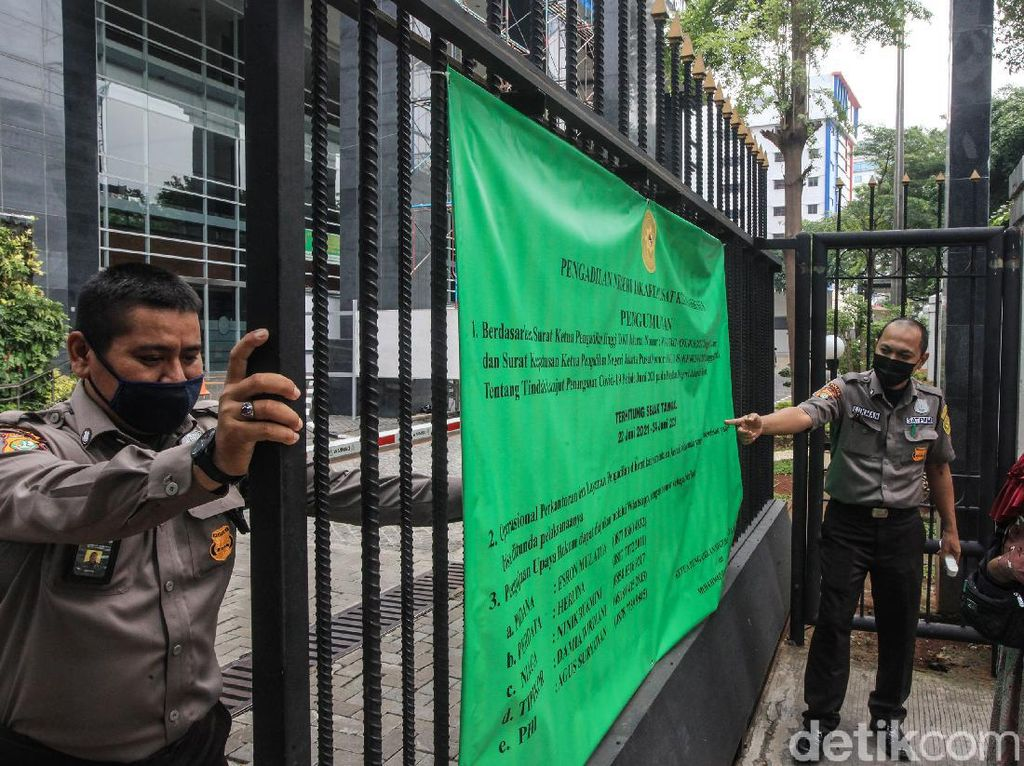 PN Jakpus Lockdown 3 Hari Imbas Hakim-Pegawai Positif COVID-19