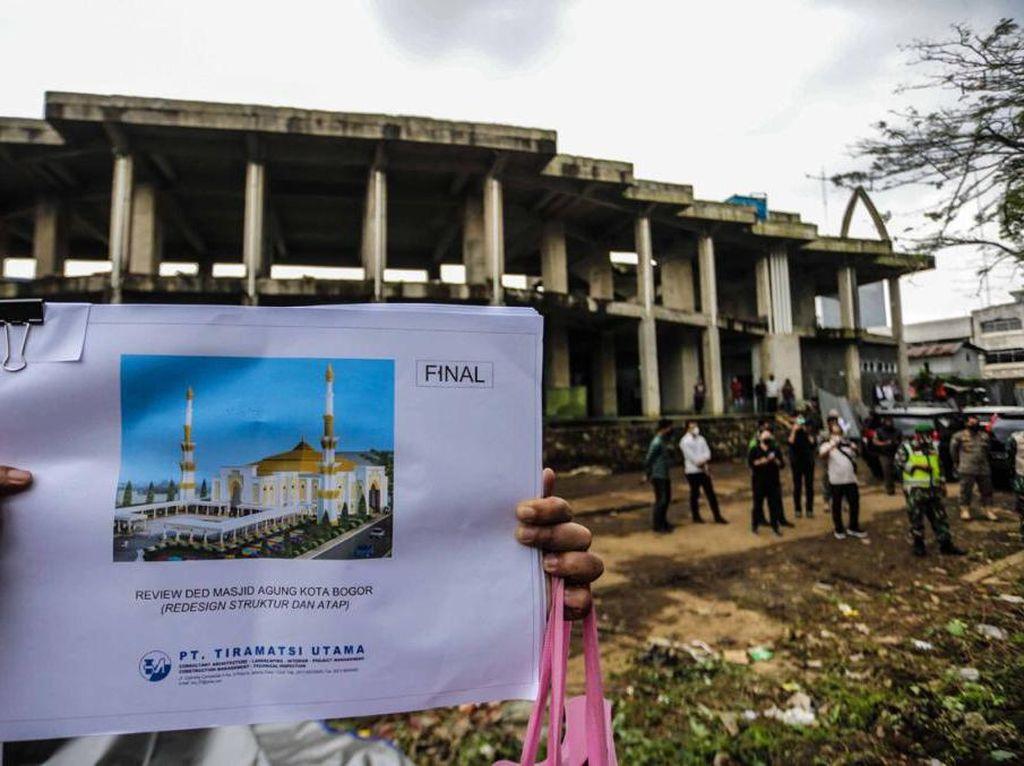 Resmi Dibangun, Alun-alun dan Masjid Agung Bogor Bakal Terintegrasi