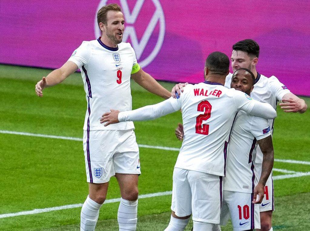 Hasil Ceko Vs Inggris: Menang 1-0, The Three Lions Juara Grup