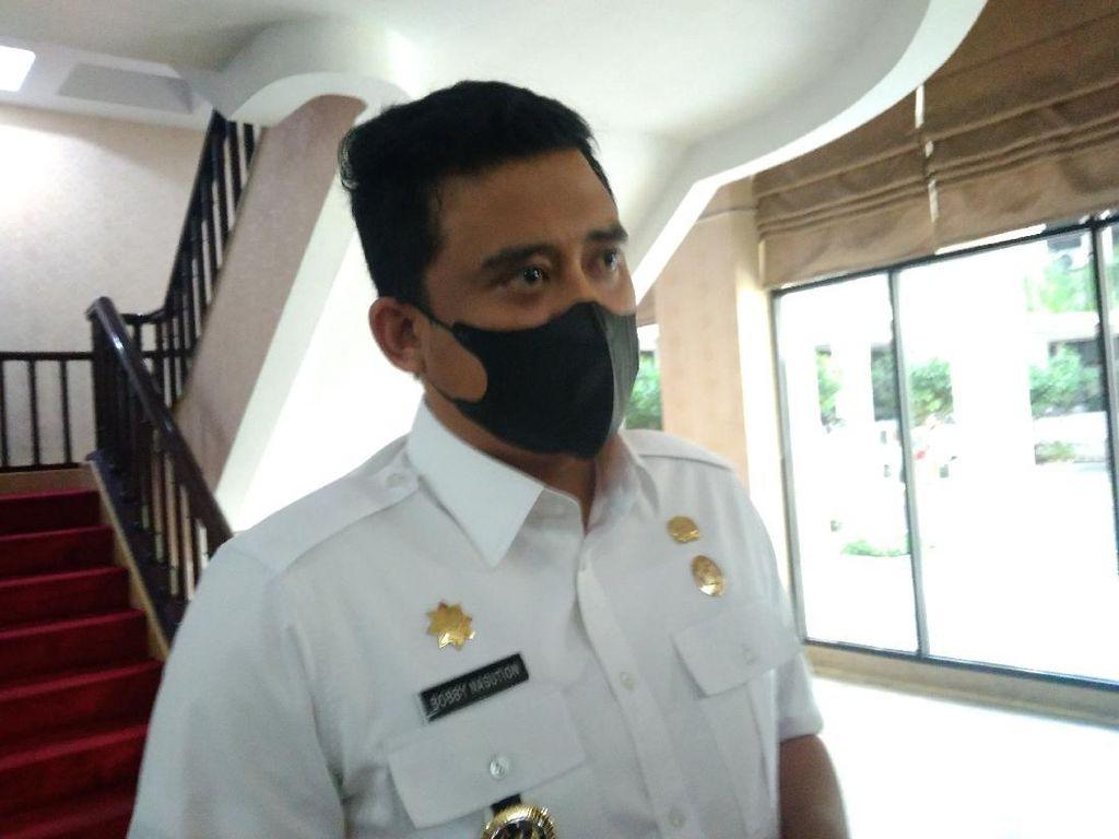 Lagi Isolasi, Bobby Ikut Rapat di DPRD Medan Secara Virtual