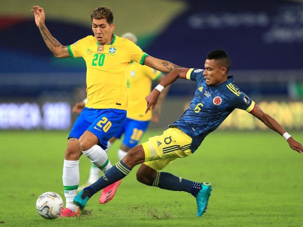 Brasil vs Kolombia: Tim Samba Kunci Puncak Grup B Usai Menang 2-1