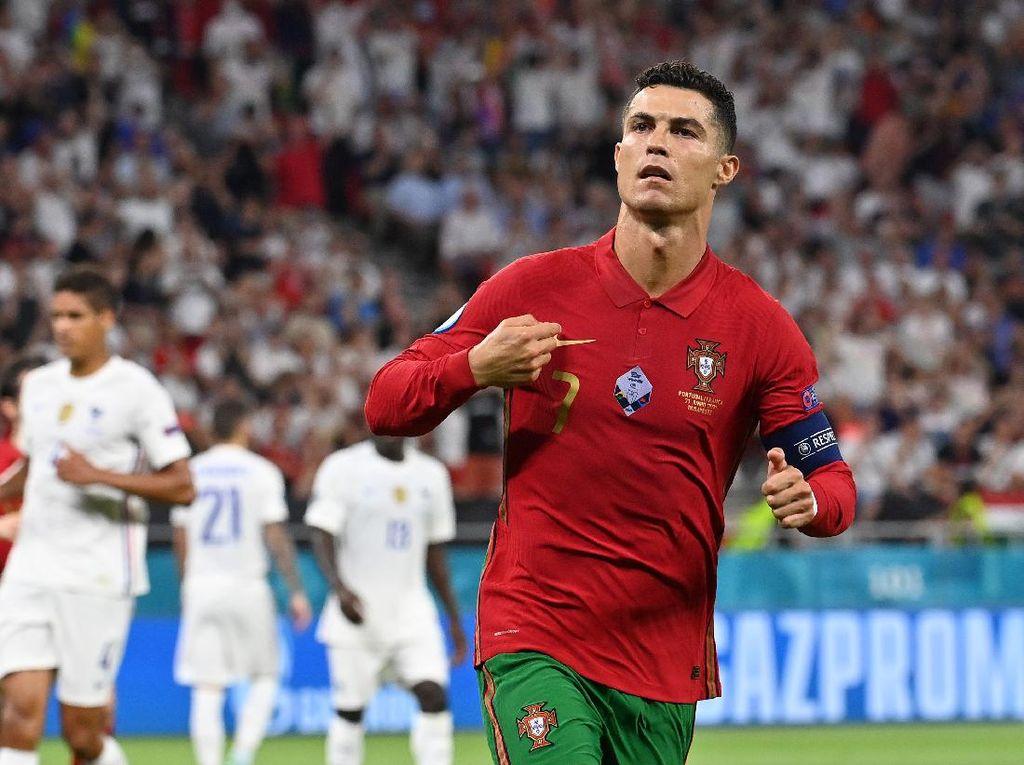 Top Skor Euro 2020: Cristiano Ronaldo Kukuh Teratas