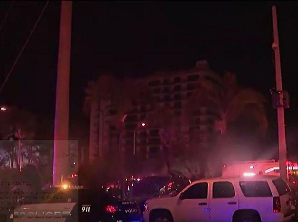 Gedung di Miami Runtuh, Banyak Orang yang Terjebak