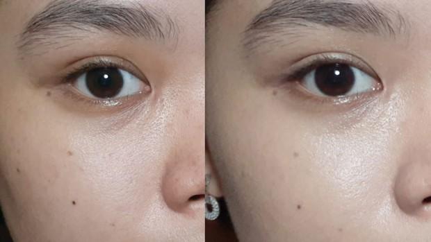 Hasil Penggunaan 1 Lapis | Pict : beautynesia.id/ranimutiaraa
