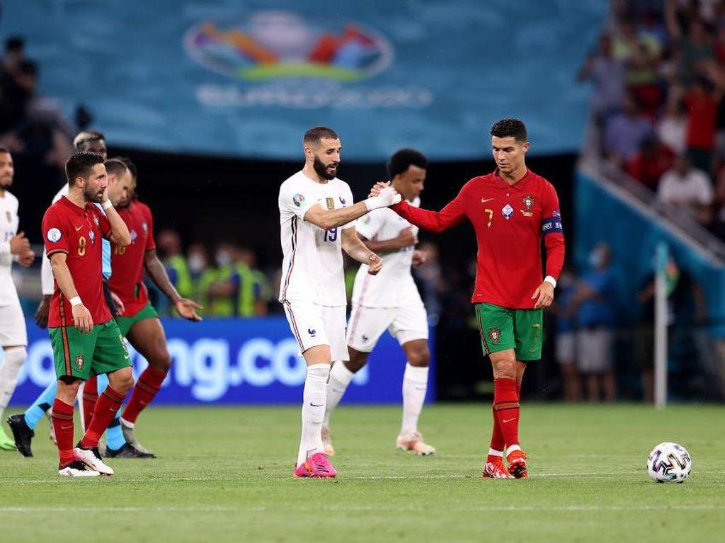 Portugal Vs Prancis: Benzema Reunian Sama Ronaldo, Ini yang Dibahas