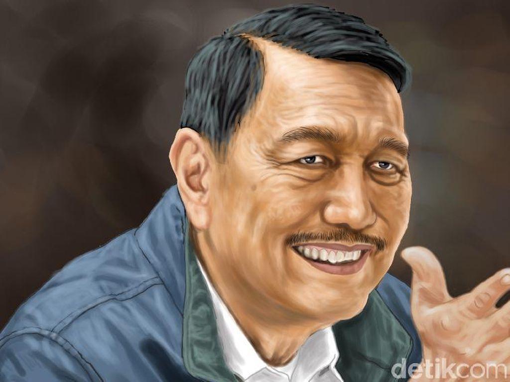 Intip Koleksi Mobil-Motor Luhut, yang Jadi Pilihan Jokowi di Masa Darurat