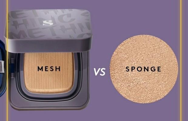 mesh vs sponge | pict from instagram.com/somethincofficial