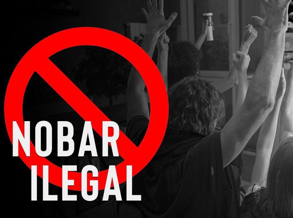 120 Lokasi Nobar Euro 2020 Secara Ilegal Ditindak Kepolisian