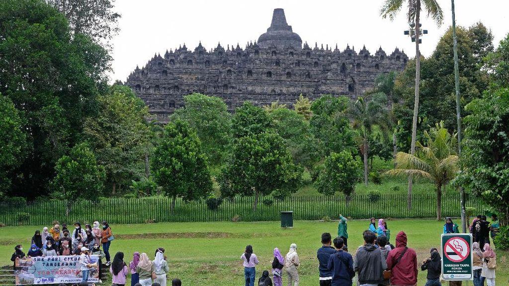 Usai Prambanan, Kini Giliran Borobudur Ditutup Sementara