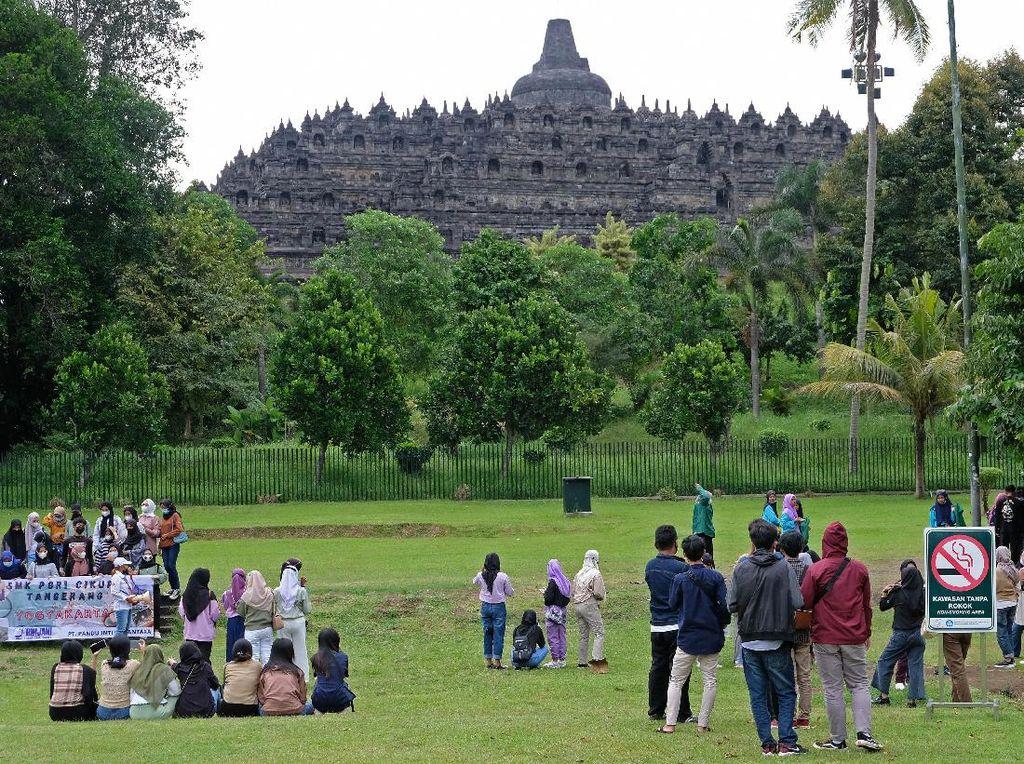 Manfaatkan Momen PPKM, Candi Borobudur Latih SDM Soal Food Safety