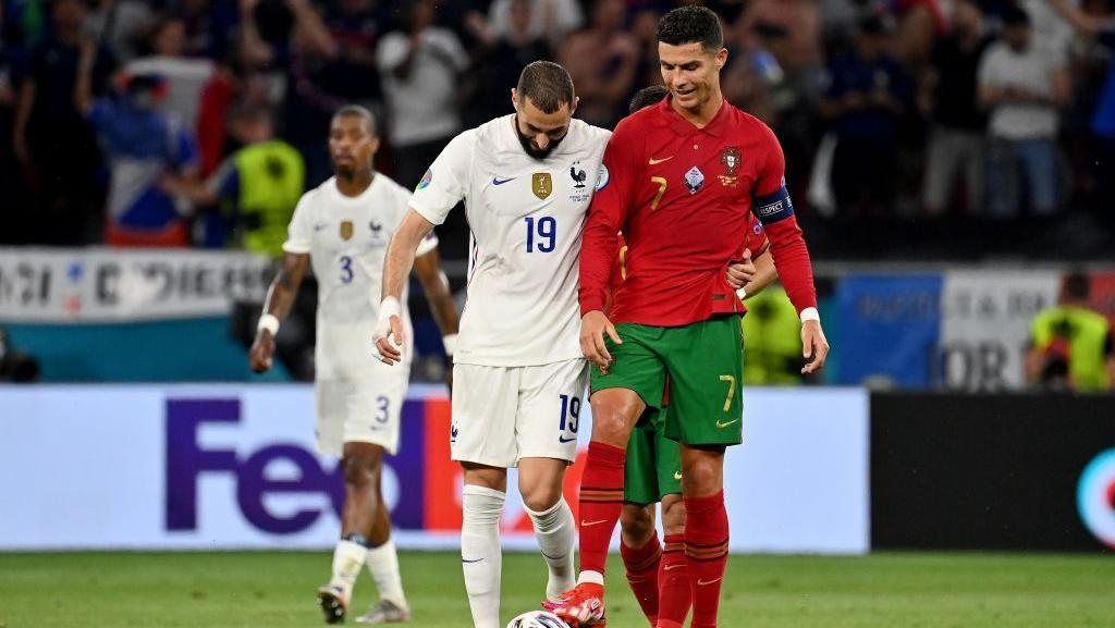 Foto: Reuni Pemain Real Madrid Saat Portugal Vs Prancis