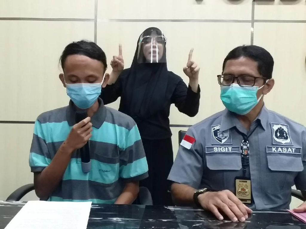 Provokator Penyerangan Pos Penyekatan di Suramadu Minta Maaf