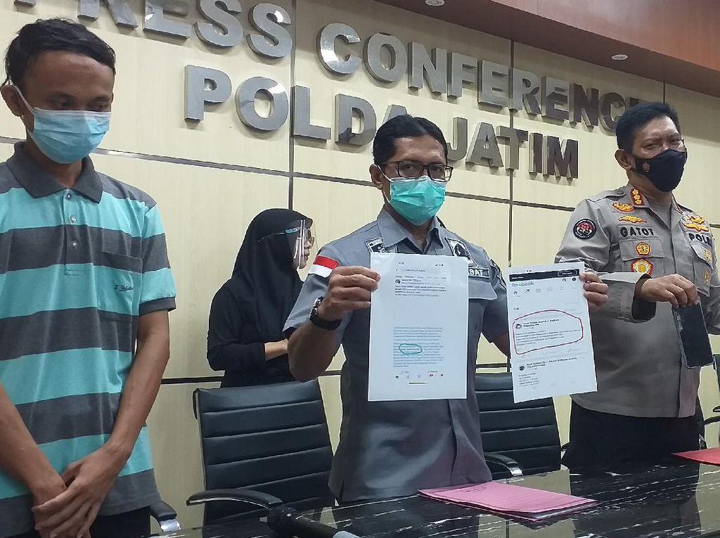 Provokator Penyerangan Pos Penyekatan Suramadu Ditangkap