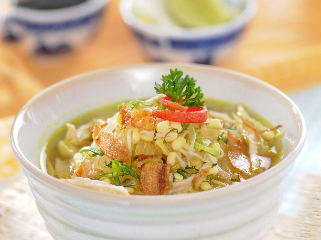 Resep Soto Ayam Semarang Kuah Bening yang Gurih Segar