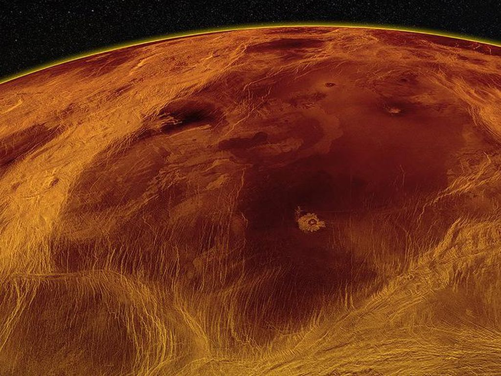 Mirip Bumi, Permukaan Venus Terdeteksi Bergerak