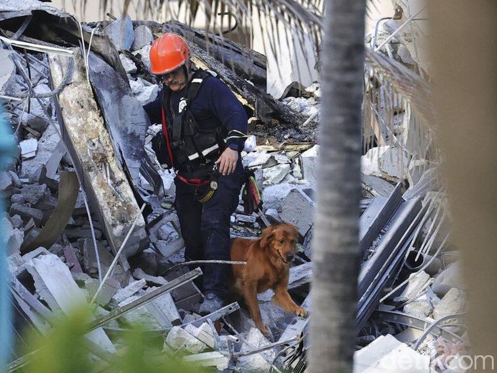 Korban Terakhir Apartemen Runtuh di Florida Telah Diidentifikasi