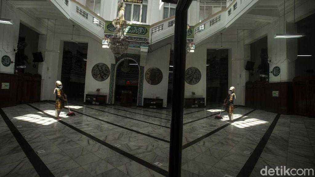 Masjid Cut Meutia Tidak Jumatan Hari Ini