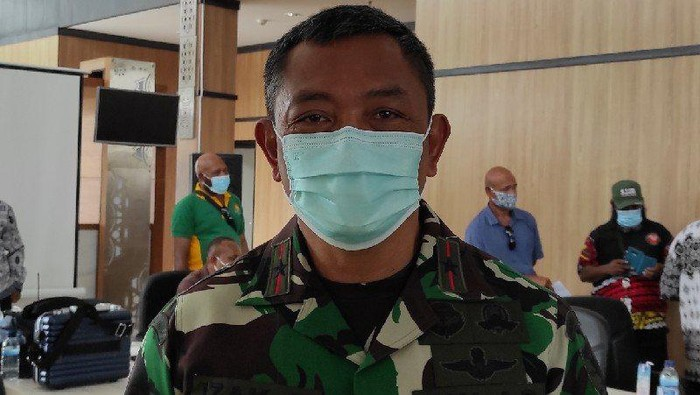 Dandrem 172/PWY Brigjen TNI Izak Pangemanan (Foto: Antara)