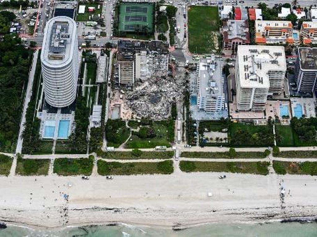 99 Orang Dilaporkan Hilang saat Apartemen di Miami Roboh